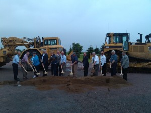 shovels nicollet ground breaking
